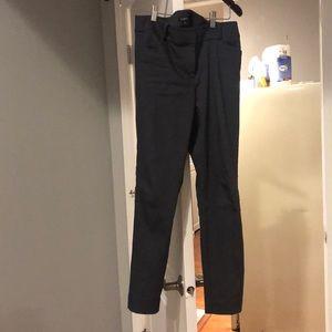 Loft Size 4 Gray Julie Pants